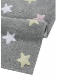 LORENA CANALS - Stars Tricolor Grey-Pink