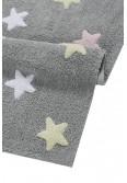 LORENA CANALS ΧΑΛΙ - Stars Tricolor Grey-Pink